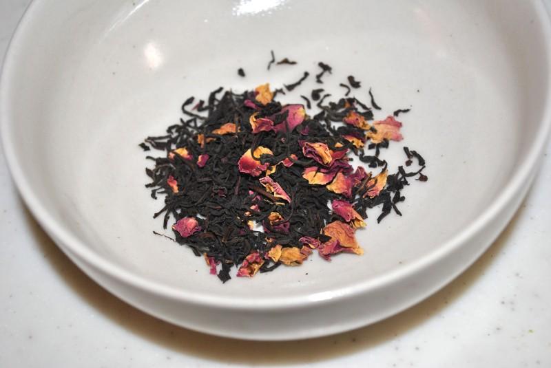 美容効果のあるアールグレイ茶の葉