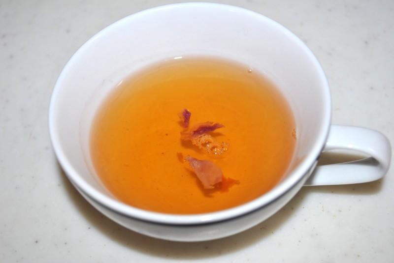 美容効果のあるアールグレイ茶を入れてみた