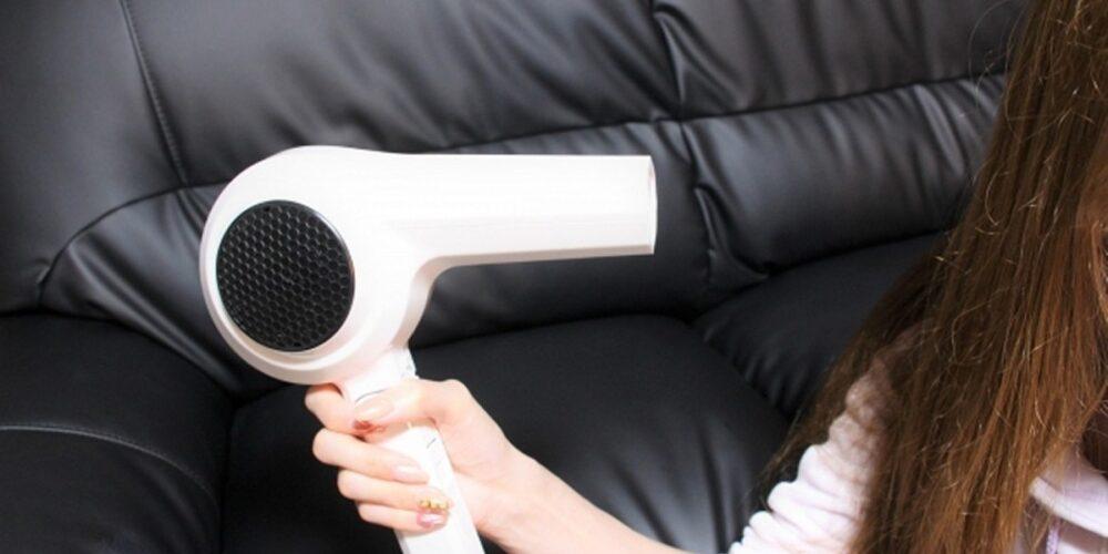 髪パサパサにならないために、必ずドライヤーで乾かすこと