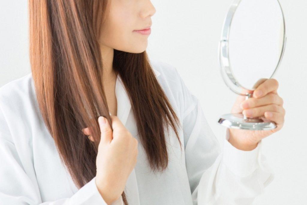 パサパサ髪の対策、治す方法