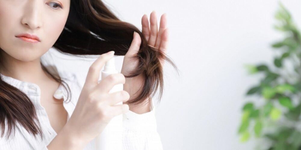 髪の毛のパサパサの原因