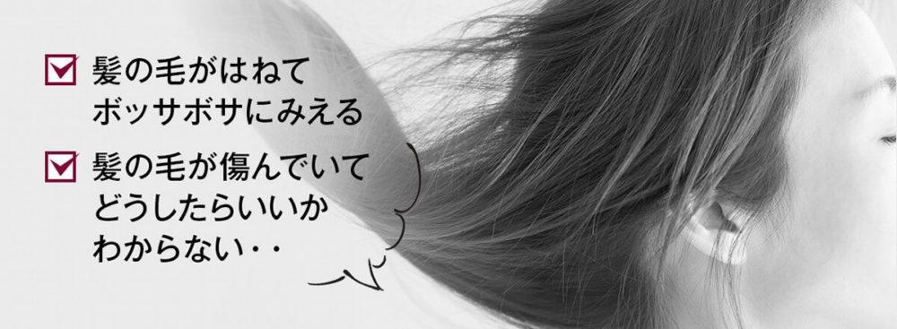 コロアシャンプー・髪の悩み