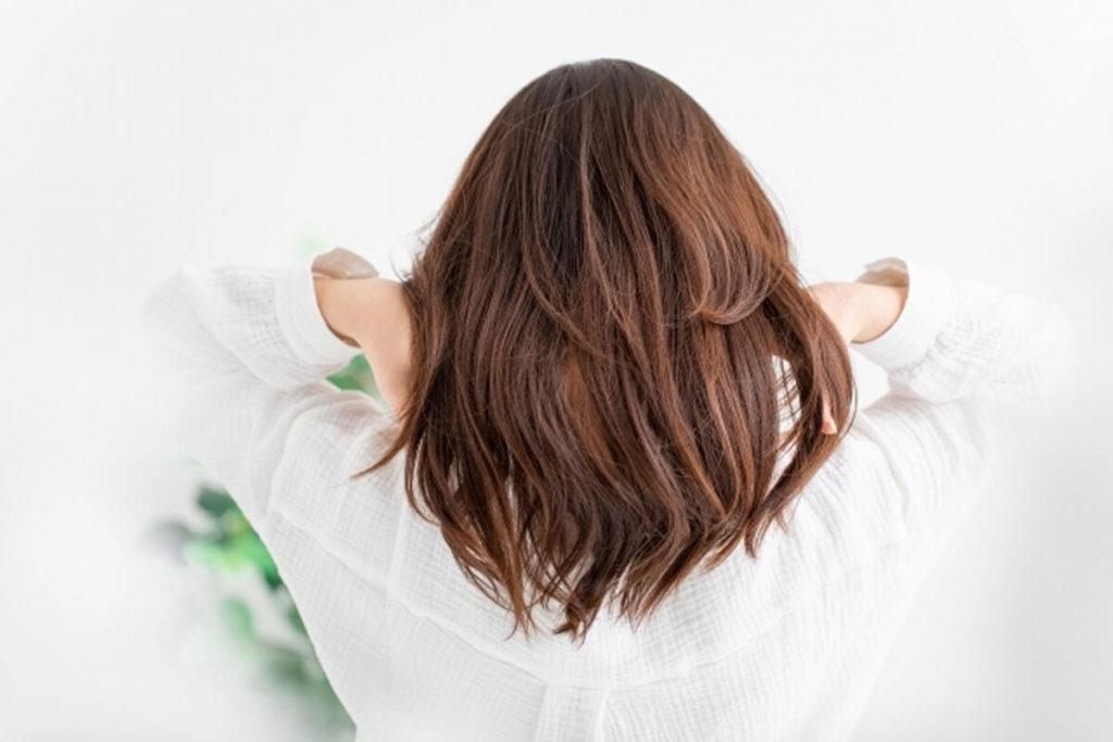 髪がサラサラに