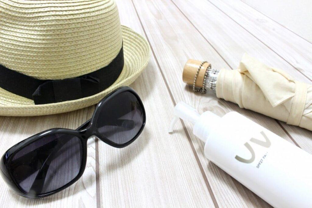 紫外線対策を行い、肌を守る方法