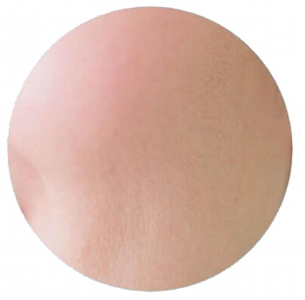 毛穴が目立たない肌の写真