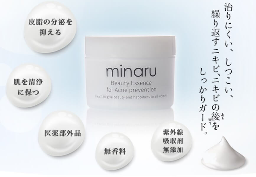 minaru(ミナル)薬用アクネジェルとは